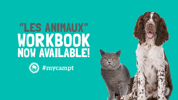 """""""Les animaux"""" workbook now available!"""
